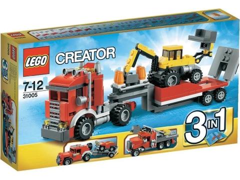 Hình ảnh vỏ ngoài sản phẩm Lego Creator 31005 - Xe Tải Chuyên Dụng