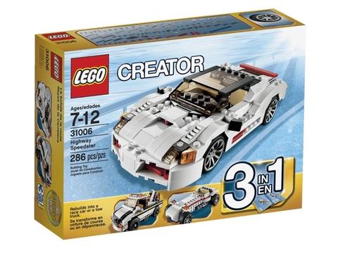 Hình ảnh bên ngoài Lego Creator 31006 - Siêu Xe Tốc Độ