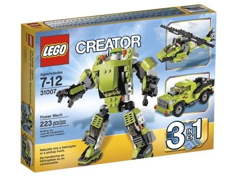 Hình ảnh sản phẩm Lego Creator 31007 - Rô Bốt Biến Hình