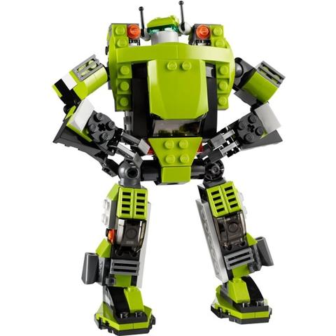 Chú robot dũng mãnh xuất hiện trong Lego Creator 31007 - Rô Bốt Biến Hình