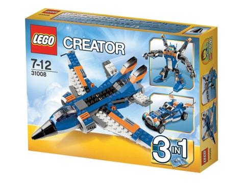 Hình ảnh vỏ ngoài sản phẩm Lego Creator 31008 - Máy Bay Sấm Chớp