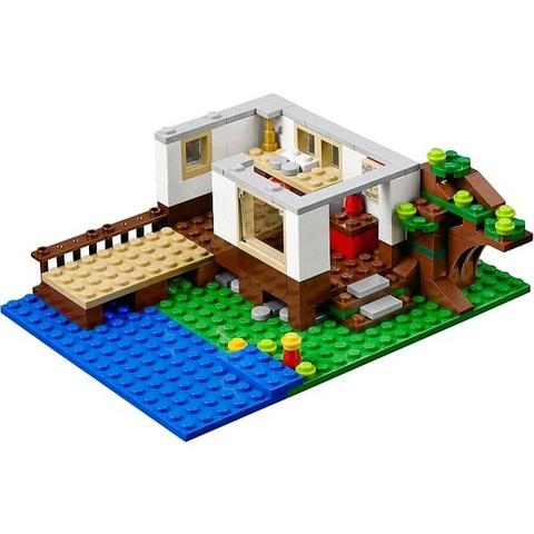 Bé sẽ học được cách kiên nhẫn khi lắp ráp mô hình Lego Creator 31010 - Nhà Trên Cây này