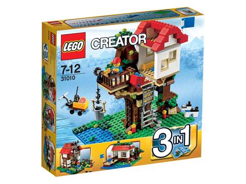 Hình ảnh vỏ hộp bên ngoài sản phẩm Lego Creator 31010 - Nhà Trên Cây
