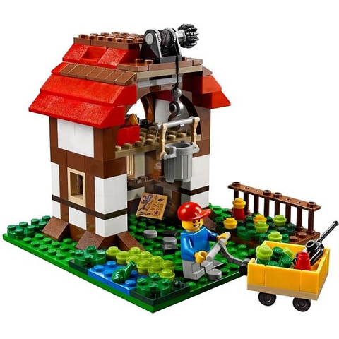 Các bé hãy cùng xây dựng mô hình Nhà Trên Cây độc đáo này nhé