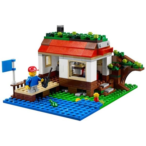 Sản phẩm Lego Creator 31010 - Nhà Trên Cây giúp kích thích khả năng sáng tạo của trẻ từ 7 đến 12 tuổi