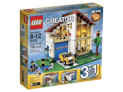 Hình ảnh bên ngoài sản phẩm Lego Creator 31012 - Ngôi Nhà Hạnh Phúc