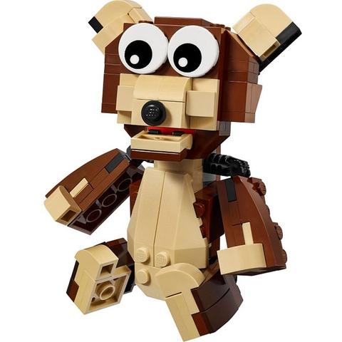 Các chi tiết trong Lego Creator 31019 - Động Vật Rừng Xanh đều được làm từ nhựa an toàn