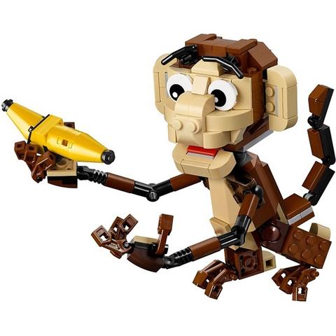 Đồ chơi Lego Creator 31019 - Động Vật Rừng Xanh bắt mắt