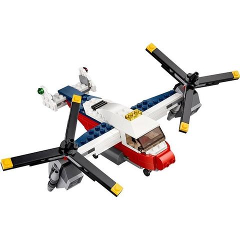Lego Creator 31020 - Máy Bay Thám Hiểm với mô hình biến đổi linh hoạt