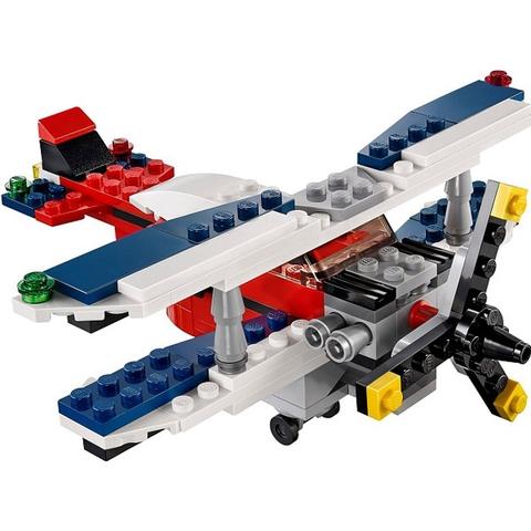 Bé tha hồ vừa chơi vừa học với bộ xếp hình Lego Creator 31020 - Máy Bay Thám Hiểm