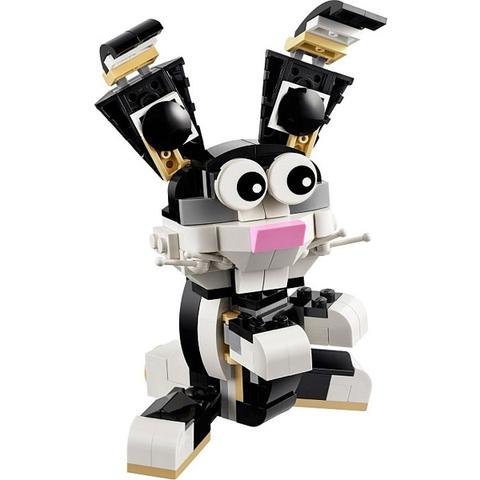 Sản phẩm Lego Creator 31021 được làm từ nhựa ABS tuyệt đối an toàn