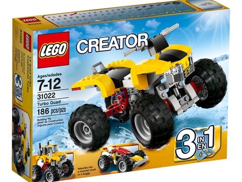 Hình ảnh vỏ ngoài sản phẩm Lego Creator 31022 - Siêu xe bốn bánh mạnh mẽ