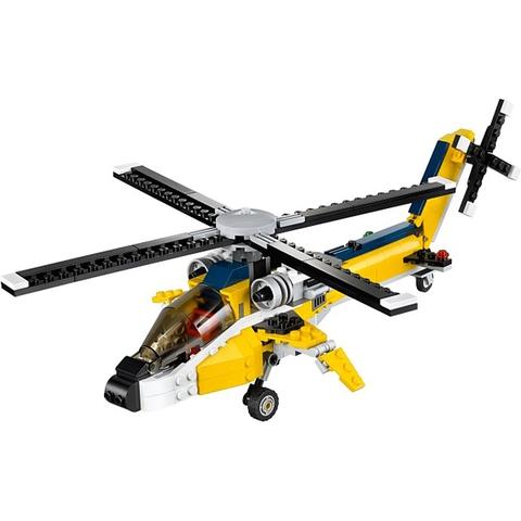 Lego Creator 31023 - Tay Đua Vàng - đồ chơi an toàn với mọi trẻ nhỏ