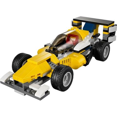 Lego Creator 31023 - Tay Đua Vàng với mô hình xe đua thời thượng