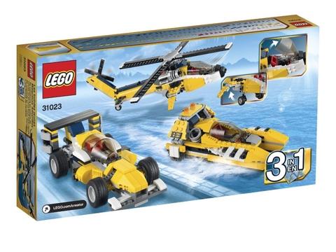 Hình ảnh bên ngoài sản phẩm Lego Creator 31023 - Tay Đua Vàng