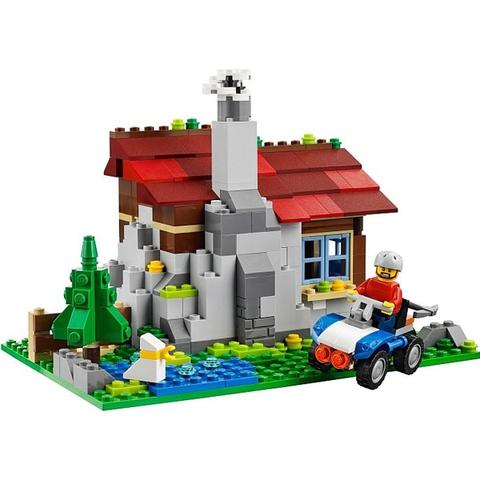 Cho bé phát triển khả năng sáng tạo với bộ xếp hình Lego Creator 31025 - Nhà Trên Núi