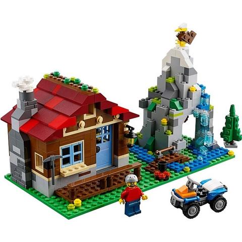 Bộ đồ chơi Lego Creator 31025 với mô hình nhà trên núi độc đáo