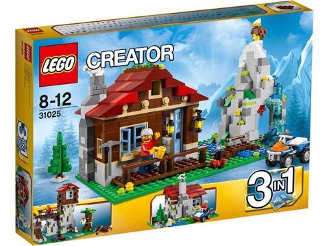 Vỏ hộp Lego Creator 31025 - Nhà Trên Núi