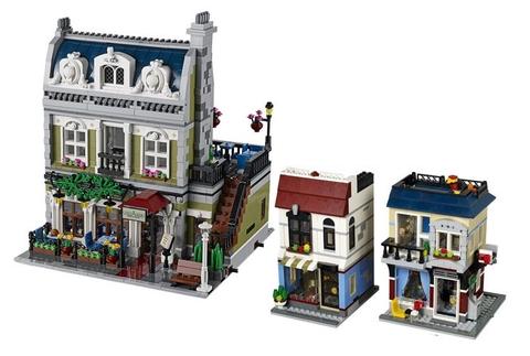 Bộ xếp hình Lego Creator 31026 - Cửa Hàng Xe Đạp và Quán Cà Phê dành cho bé từ 9 tuổi trở lên