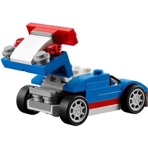 Lego Creator 31027 - Xe Đua Xanh cho bé rèn luyện tính kiên trì