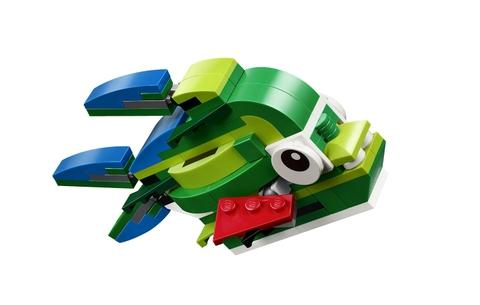 Bộ xếp hình Lego Creator 31031 - Động Vật Rừng Nhiệt Đới làm từ chất liệu nhựa an toàn