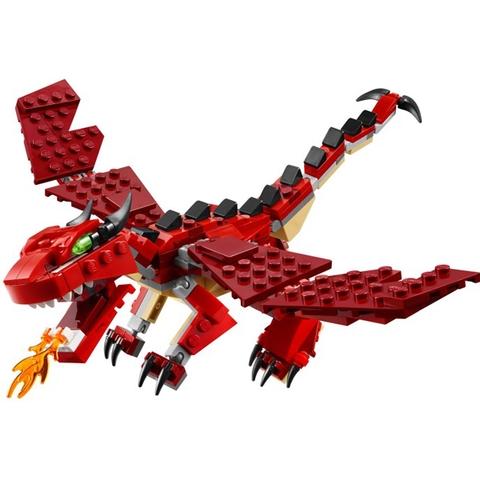 Mô hình chú khủng long trong Lego Creator 31032 - Sinh Vật Huyền Thoại được thiết kế tinh tế