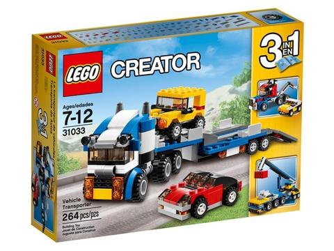 Vỏ ngoài đồ chơi Lego Creator 31033 - Vận Chuyển Xe Hơi