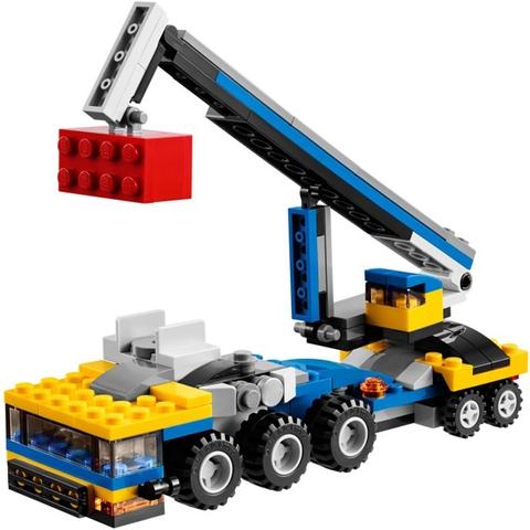 Cho bé phát triển khả năng tư duy với bộ đồ chơi Lego Creator 31033 - Vận Chuyển Xe Hơi