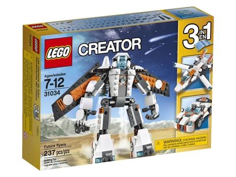 Hình ảnh vỏ hộp bộ Lego Creator 31034 - Rô bốt Tương Lai