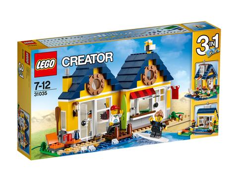 Vỏ ngoài sản phẩm Lego Creator 31035 - Lều Bãi Biển