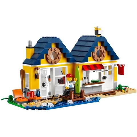 Chủ đề Lego Creator 31035 - Lều Bãi Biển hấp dẫn và độc đáo