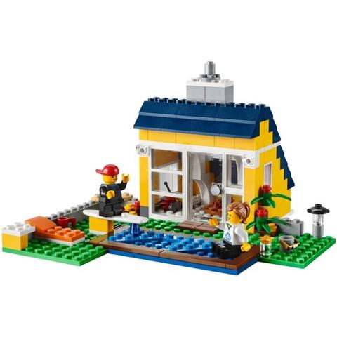 Cho bé tha hồ sáng tạo với bộ đồ chơi Lego Creator 31035 - Lều Bãi Biển
