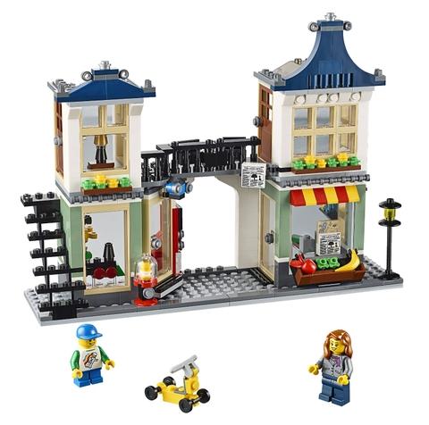 Mô hình ấn tượng của đồ chơi Lego Creator 31036 - Cửa hàng tạp hóa và đồ chơi