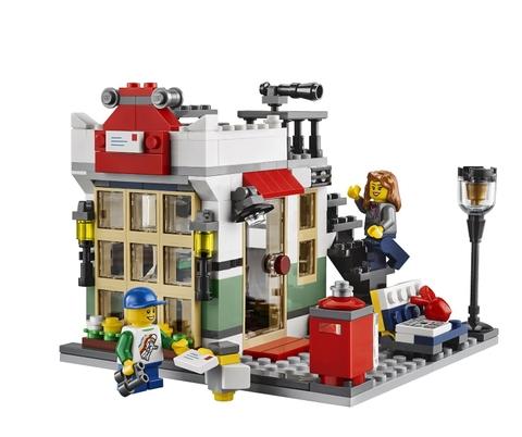 Mô hình Lego Creator cửa hàng buôn bán đồ chơi và hàng tạp hóa 31036