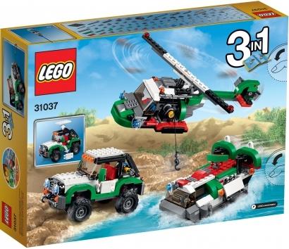 Hình ảnh vỏ ngoài của Lego Creator 31037 - Cỗ Xe Địa Hình