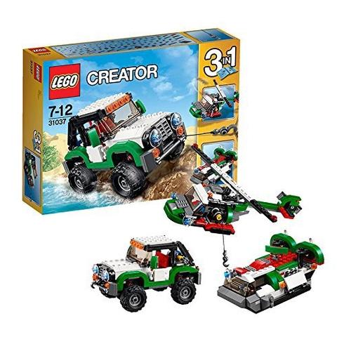 Lego Creator 31037 - Cỗ Xe Địa Hình - mô hình biến đổi 3 trong 1