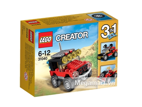 Lego Creator 31040 - Xe Đua Sa Mạc Vỏ hộp