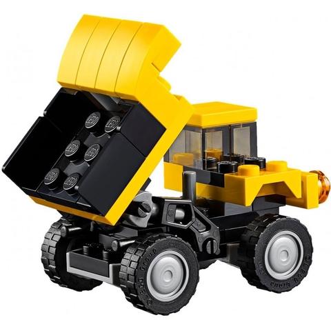 Mô hình xe nâng trong Lego Creator 31041 - Xe Công Trình Xây Dựng