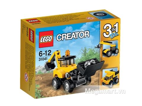 Bộ ghép hình Lego Creator 31041 - Xe Công Trình Xây Dựng thích hợp cho các bé từ 6 đến 12 tuổi