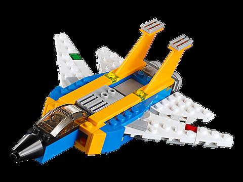 Lego Creator 31042 - Siêu Máy Bay Phản Lực - mô hình siêu máy bay