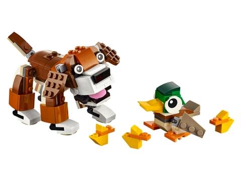 Lego Creator 31044 - Công Viên Động Vật nhiều mô hình ngộ nghĩnh