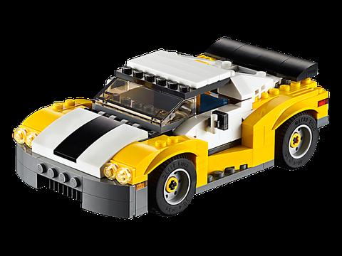 Lego Creator 31046 - Siêu Xe Đua - siêu xe của bé