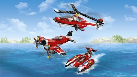 Lego Creator 31047 - Máy Bay Cánh Quạt - mô hình 3 trong 1 mới lạ