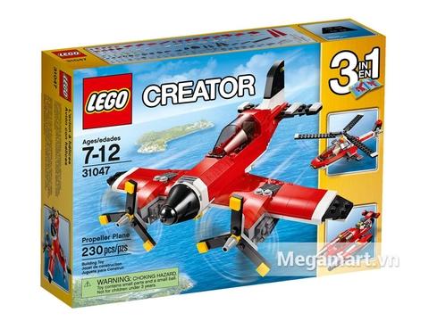 Vỏ hộp Lego Creator 31047 - Máy Bay Cánh Quạt