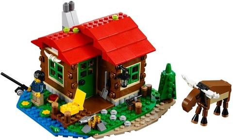 Lego Creator 31048 - Trạm Gác Ven Hồ cho bé chơi vui chơi bổ ích