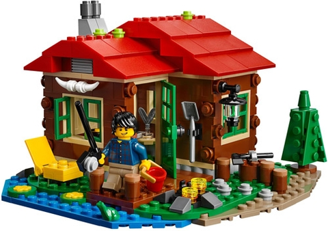Các mô hình ấn tượng trong bộ Lego Creator 31048 - Trạm Gác Ven Hồ