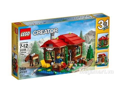 Hình ảnh vỏ hộp bộ Lego Creator 31048 - Trạm Gác Ven Hồ