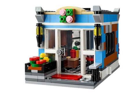 Lego Creator 31050 - Quán Ăn Góc Phố làm từ nhựa an toàn cho trẻ