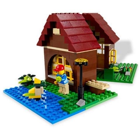 Lego Creator 5766 - Log Cabin - Người bạn thân thiết của trẻ nhỏ