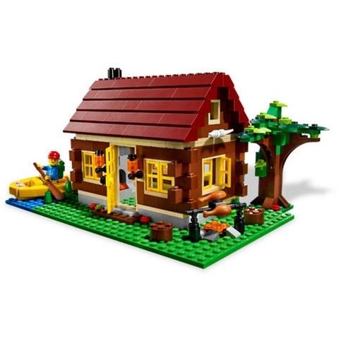 Ngôi nhà xuất hiện trong bộ Lego Creator 5766 - Log Cabin